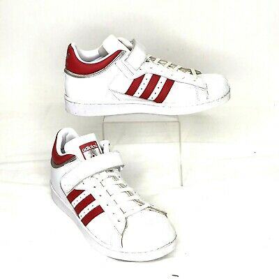 £35.98 • Buy Adidas Men's Shoes Pro Shell White Scarlet Red Silver BY43 Casual Size US 9