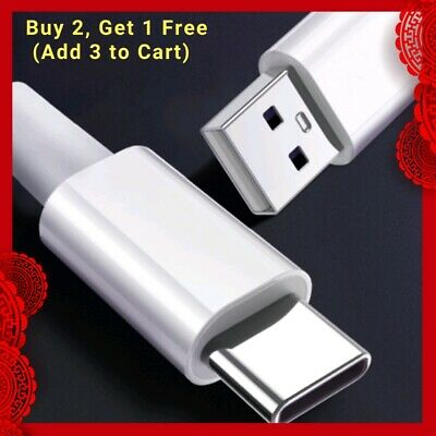 AU4.50 • Buy USB-C Type C Data&Charger Cable For Samsung Huawei Xiaomi Google Fast Charging