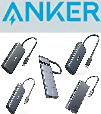 AU114.10 • Buy Anker USB C Hub All-in-One USB C Adapter With 4K / HDMI MacBook IPad Pro