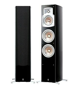 AU1349 • Buy Yamaha NS-555B Floorstanding Speakers (pair) HiFi Stereo Cinema NS555 RRP $1999