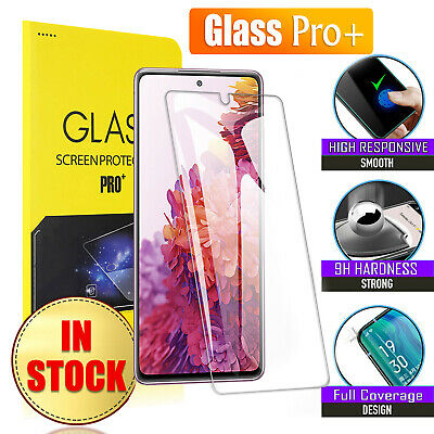 AU4.90 • Buy For Samsung Galaxy S20 FE 5G S10 S9 S8 Plus Full Tempered Glass Screen Protector
