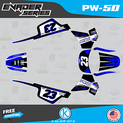 $ CDN48.37 • Buy Graphics Kit For Yamaha PW50 (1990-2021) PW-50 PW 50 Evader Series- Blue