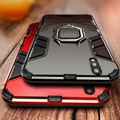 AU14.72 • Buy Huawei  Y7 PRO (2019) Case Ring Metal Kickstand  Armor Case Cover
