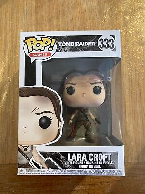 Lara Croft - Tomb Raider Funko Pop Vinyl #333 *New With FREE Protector* • 21.99£