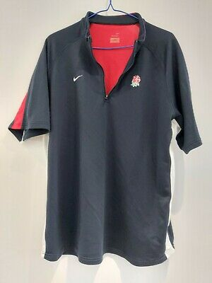 England Rugby Navy Away Training Top Nike XXL Excellent Condition • 9£