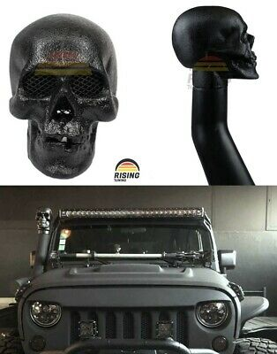AU201.36 • Buy Skull Snorkel Head 3  Intake Air Ram Replacement Inlet Off Road Mudding 4x4 80mm