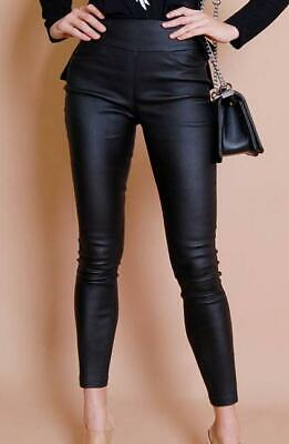 £22.57 • Buy Black Oil Rigger Jean Pull Up Limited Edition - Refuge High Rise Waist (Rubber S
