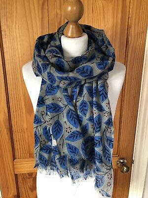 Seasalt Ethels Berry Pretty Printed Scarf Brand New With Tags • 24.95£