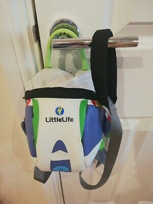 Littlelife Buzz Toy Story Lightyear Toddler Reins Backpack • 5.50£