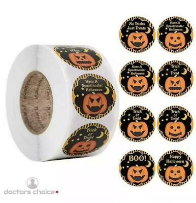 £2.99 • Buy Halloween Treat Christmas Gift Stickers Thank You Merry Business Labels 25mm