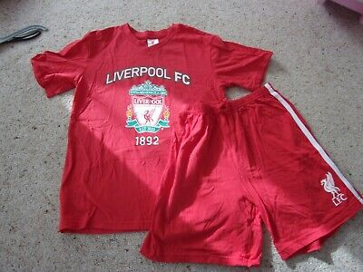 Liverpool FC Pyjamas - Red Age 12-13 Years. Immaculate - Only Worn Once • 5£