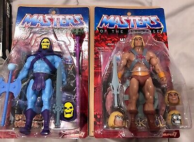 $228.50 • Buy Masters Of The Universe Ultimates Super 7 He-man Vs Skeletor  Ready To Ship!