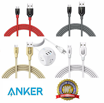AU21.98 • Buy NEW Original Anker Micro USB Multi Type C Lightning Micro USB C 3.0 2.0 Cable