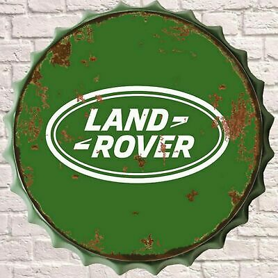 Land Rover Classic Retro Vintage Wall Sign Metal Bottle Top Bar Man Cave Garage • 14.99£