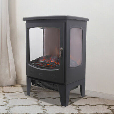 1800W Electric Fireplace Stove Heater Log Burning Flame Effect Living Room • 88.97£