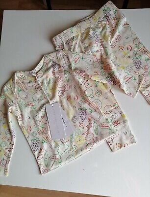 £34.99 • Buy Stella McCartney Baby Top & Trousers  Fruit&Vegetables  Set NWT Age 12 Months