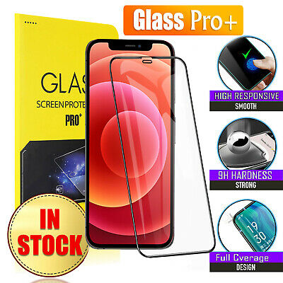 AU4.49 • Buy For IPhone 13 12 11 Pro Max Mini XR X XS 8 7 6S Tempered Glass Screen Protector