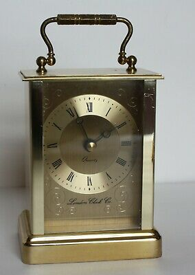 Quartz Carriage Clock Made By London Clock Co • 9.99£