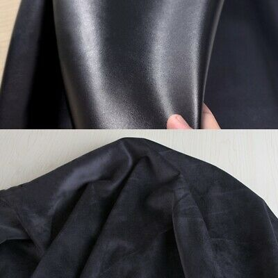 £21.10 • Buy Faux Leather Fabric Thick Fleece Lined PU Cloth Stretch DIY Sew Craft 150*100 Cm