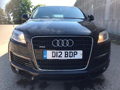 2008 Audi Q7 In Black Low Miles Px Swap Why Free Uk Delivery  • 5,995£