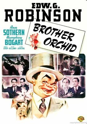 £10.89 • Buy BROTHER ORCHID (DVD) Edward G Robinson/Humphrey Bogart UK COMPATIBLE + Extras
