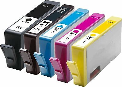 NonOEM Lot HP364xl Ink Cartridges For Photosmart 5510 5515 5520 5524 6510 C6380 • 6.15£
