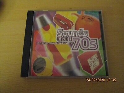TIME LIFE CD SOUNDS OF THE 70s 18 CLASSICS FROM THE FAB SEVENTIES IN EX CON • 30£