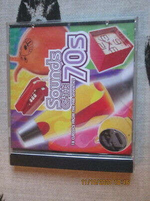 TIME LIFE CD SOUNDS OF THE 70s 18 CLASSICS FROM THE FAB SEVENTIES IN EX CON • 20£