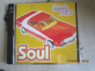 TIME LIFE CD SOUNDS OF THE 70s SOUL MINT • 30£