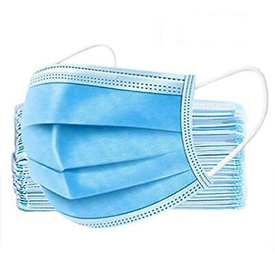 £2.29 • Buy 3-PLY DISPOSABLE FACE MASKS MASK MEDICAL SURGICAL Pack Of 2