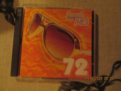 TIME LIFE CD SOUNDS OF THE 70s 72 IN EX CON • 8£
