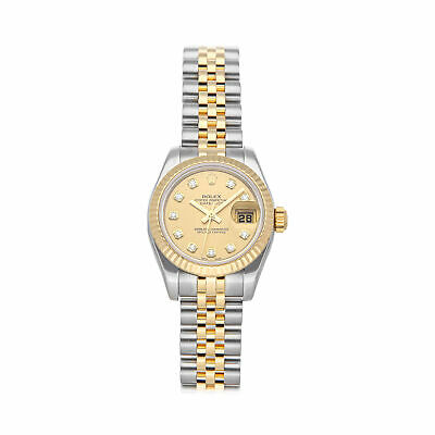 $ CDN9289.37 • Buy Rolex Datejust Auto Steel Yellow Gold Ladies Jubilee Bracelet Watch 179173