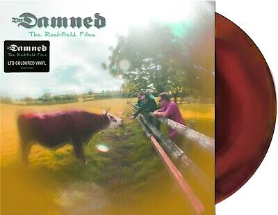 The DAMNED LP 12  EP. The ROCKFIELD FILED PSYCHEDELIC Swirl Purple VINYL NEW • 10.95£