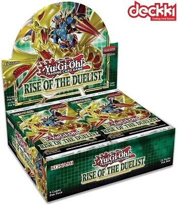 Rise Of The Duelist - Sealed Booster Box 24 Packs (1st Edition) ROTD YuGiOh! • 99.99£