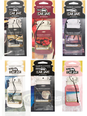 Yankee Candle Car Jar Car Air Freshener *Choice Of Scents* • 3.79£
