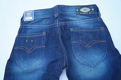 Replay WV580 Janice Bootcut Women's Jeans Hip Pants Flare 27/34 W27 L34 Blue • 51.83£