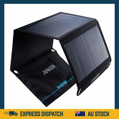 AU193.99 • Buy Anker 21W Dual USB Solar Charger, PowerPort Solar For IPhone 7 / 6s / Plus, IPad