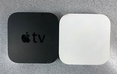 AU104.38 • Buy LOT 2: Apple TV (3rd Gen) HDMI 1080p A1469 & Apple Airport A1392, ALL TESTED!