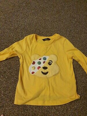 Pudsey Children In Need T-shirt, 18-24 Months  • 0.50£