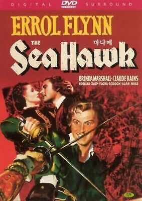 The Sea Hawk - Errol Flynn, Brenda Marshall - New UK Compatible Region Free DVD  • 9.35£