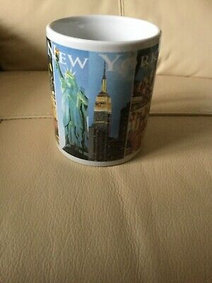Mug From New York City Skyline Famous Buildings On It Never Used Very Attractive • 0.99£