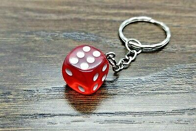 Dice Key Ring Key Chain - Keyring Keychain Multi Colour D&D Board Game Boardgame • 2.95£