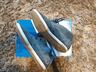 Fred Perry Suede Roots Unlined Shoes Size 5 • 25£