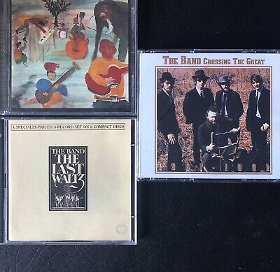 The Band X6 Cds - Last Waltz + 'crosssing The Great Divide' And Big Pink • 5£
