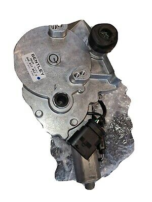 Bentley Continental GT Flying Spur Electric Boot Opening Motor 3W0827852f Used • 250£