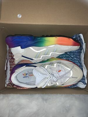 AU76 • Buy Addidas Ozweego Deadstock Limited Edition Rainbow Pride Sneaker Shoes US 5 ASOS