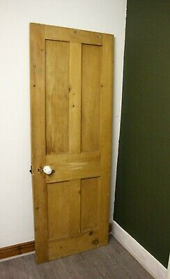 Interior Wooden Door, Rustic, Solid Wood, Pine Door • 30£