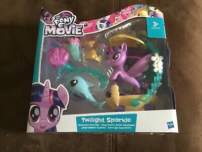 My Little Pony - The Movie - Twilight Sparkle - Undersea Carriage - Brand New • 9£