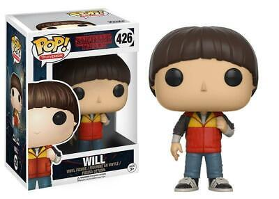 AU5.50 • Buy Funko Pop!  Will 426 Stranger Things Vinyl Figure With Protector