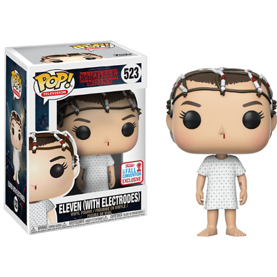 AU6.50 • Buy Funko Pop! Eleven With Electrodes 523 Stranger Things Vinyl Figure W/ Protector